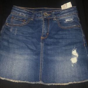 Zara girls Denim Skirt